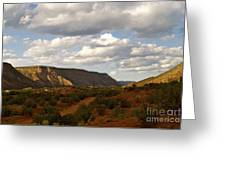 The Valley II Greeting Card