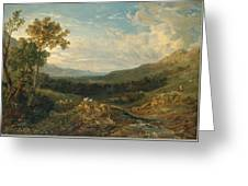 The Valley Of The Clyde Greeting Card