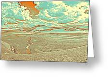 The Valley Of Winding Snake River Greeting Card