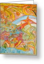 The Valley Of Wonders Greeting Card