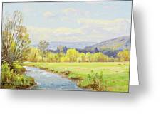 The Valley Stream Greeting Card