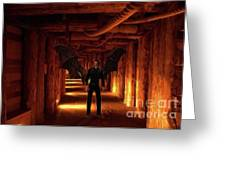 The Vampire Tunnel Greeting Card