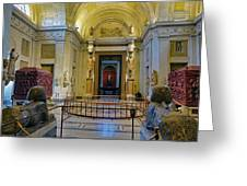 The Vatican Museum In The Vatican City Greeting Card