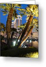 The Venetian Hotel And Casino Las Vegas Greeting Card