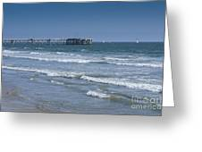 The Venice Pier 1 Greeting Card