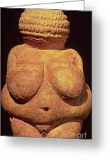 The Venus Of Willendorf Greeting Card