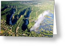 The Vic Falls Gorge Greeting Card