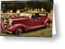 The Vicar's Roadster Greeting Card
