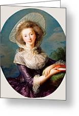 The Vicomtesse De Vaudreuil Greeting Card