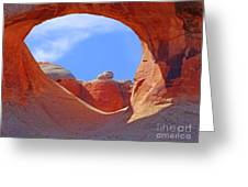 The View Beyond Greeting Card