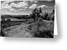 The View From Bald Mountain Greeting Card