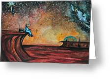 The View From Here.  Greeting Card
