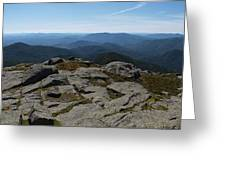 The View North From Mt. Marcy Greeting Card