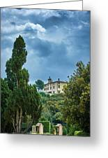 The Views From The Boboli Gardens Greeting Card