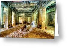 The Villa Of The Boat In The Antique Salon - La Villa Della Barca Nell'antico Salone Greeting Card