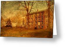 The Village - Allaire State Park Greeting Card