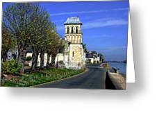The Village Of Le Thoureil Greeting Card