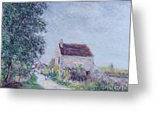 The Village Of Sablons Greeting Card