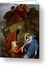 The Virgin Of Calvary Greeting Card by Jules Eugene Lenepveu