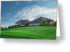 The Virtues Golf Course Clubhouse Greeting Card