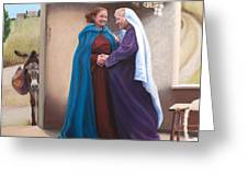 The Visitation Greeting Card