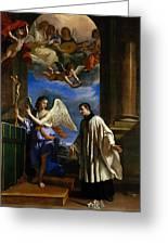 The Vocation Of Saint Aloysius Gonzaga Greeting Card