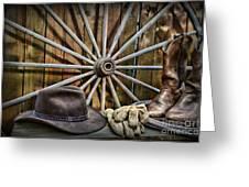 The Wagon Master Greeting Card