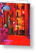 The Walkabouts - Spanish Red Moon Stroll Greeting Card