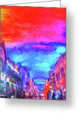 The Walkabouts - Sunset In Chinatown Greeting Card