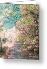 The Walkway Of Forgotten Dreams Greeting Card