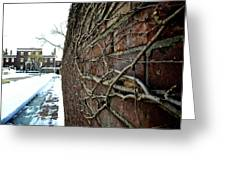The Wall That Never Ends Greeting Card