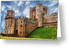 The Warwick Castle Greeting Card