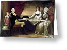 The Washington Family Greeting Card