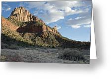 The Watchman Greeting Card by Kenneth Hadlock