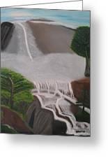 The Waterfall Greeting Card