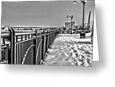 The Waterfront Greeting Card