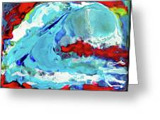 The Wave #2 Greeting Card