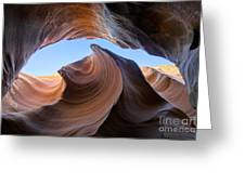 The Wave Of Antelope Canyon Greeting Card