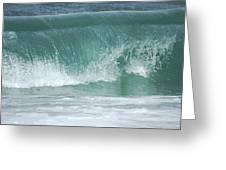 The Wave De Greeting Card