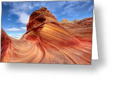 The Wave Eight Greeting Card