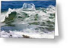 The Wave Greeting Card
