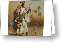 The Way From Sinai To Cairo Greeting Card