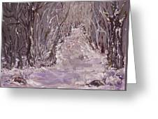 The Way Home Greeting Card by Mary Sedici
