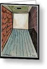The Way Into This Room.  Surreal Box. Aceo Greeting Card