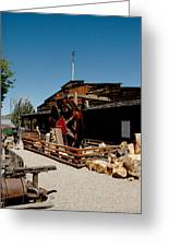 The Way It Was Virginia City Nv Greeting Card