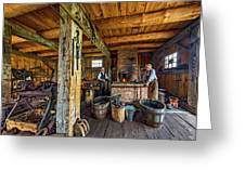 The Way We Were - The Blacksmith 2 Greeting Card