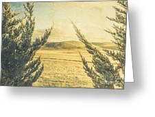 The Wayback Meadow Greeting Card