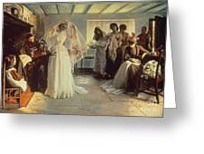 The Wedding Morning Greeting Card