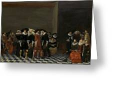 The Wedding Party Greeting Card