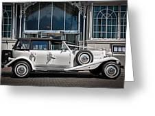 The Weddingmobile Greeting Card